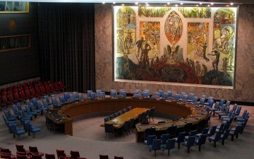 An EU seat in the security council as first step towards a democratic organisation of world security