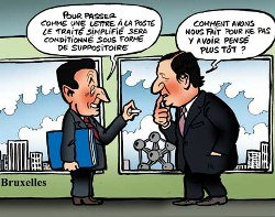"Sarkozy strikes again: EU of the ""wise"" instead of the citizens"