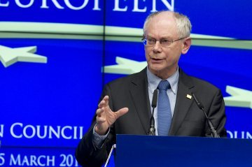 L'Europe face à trois crises majeures - Interview de Herman Van Rompuy